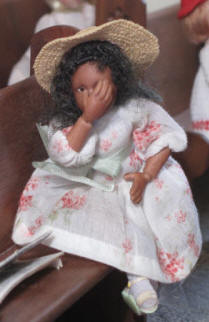 Grace is hiding her face......visit our Pentecost page to find out why!